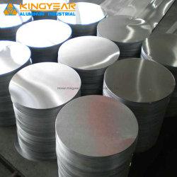 Embutición aluminio/aluminio/Cookwares Círculo de discos para lámparas de iluminación/Bottle Cap (1050 1060 1100 3003)