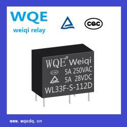 Wl33f 5A Relais miniatures de puissance Relais PCB 5 broches Slim Micro Cube rele pour appareils électroménagers &l'utilisation industrielle / commande Auto / voiture intelligent