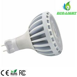 La mazorca de aluminio sin ventilador LED E27 G12, PAR 30 Bombilla LED Iluminación LED 30W FOCO PAR