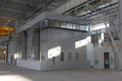 Ausgezeichneter thermische Isolierungs-Gesamtschweißens-Spray-Stand/hohe Kapazitäts-Ofen