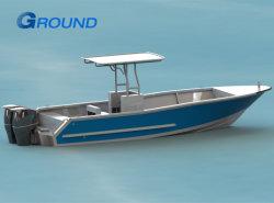 7.26м 24 фт центральной консоли Bimini Top рыбного промысла на лодке из алюминия