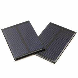 0,1-5W resina epóxi Pet Fosco pequeno painel solar para carregador de bateria luz LED China Preço Mais Baixo
