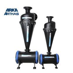 4インチの農業水用水系統装置のための遠心砂フィルター