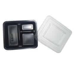 Dienblad van het Voedsel van de Vorm van de Boot van de Microgolf van de kwaliteit het Milieuvriendelijke Plastic