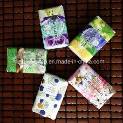 Inodoro de etiqueta privada de jabón de baño, jabón blanqueador, jabón de belleza