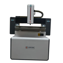 Fräser-Gravierfräsmaschine-Aluminiumausschnitt CNC-Furnierholz-Ausschnitt-Stich CNC-6060 6090
