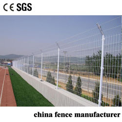 Protection de la sécurité anti grimper vert double revêtement en PVC de Wire Mesh barrière économique pour la ferme