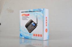 ضمان لمدة سنة واحدة مع هاتف مكتبي 2 ج هاتف لاسلكي بطاقة SIM مزدوجة يدعم GSM FWP G659 راديو FM