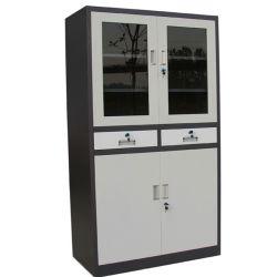 Bibliothèque de conception moderne de meubles en métal Armoire de stockage de dépôt/étagère