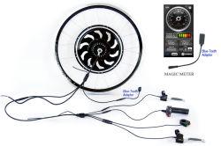 Bluetooth Золотой мотор Magic круговой диаграммы 5 СТУПИЦЫ ДВИГАТЕЛЬ электрический велосипед комплект для переоборудования