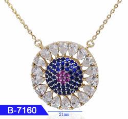 In het groot Kunstmatige Juwelen 925 van de Manier de Echte Tegenhanger van het Zirkoon van het Zilver of van het Messing voor Vrouwen