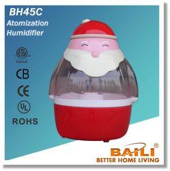 De Luchtbevochtiger Bh45c van Baili met Geruisloos Laag Energieverbruik
