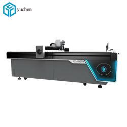 Цифровой вибрации машины для резки ножа с Auto-Feeding Non-Woven тканей