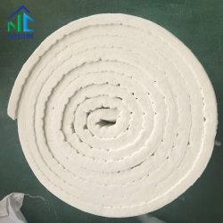 Natureza Zibo materiais refractários, Bio-Soluble manta de fibra cerâmica para a indústria têxtil, o material refratário Thermal 7200x610x25mm 3600x610x50mm, 96kg/m3