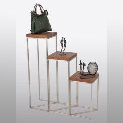 Les vêtements vendus au détail des magasins Les magasins spécialisés/Home/Niveaux & étagère d'affichage de l'échelle