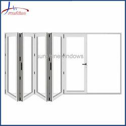 Estilo europeu dobra plástica Design porta dobra plástica da porta de porta