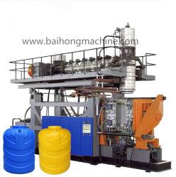 뻗기 PP HDPE 자동적인 밀어남 압출기 화학 애완 동물 기계 또는 기계를 만드는 플라스틱 부속 물 탱크 또는 드럼 또는 물통 또는 배럴 중공 성형 또는 조형