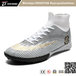 Style chaud High-Top Spike adulte enfants Chaussures de Football 7145
