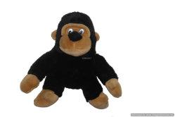 Animal de peluche suave cubierta la cabeza Golf conductor (Gorila)
