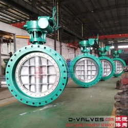 DIN/ANSI/API/ASTM acier moulé, acier inoxydable 304, 316 Double extrémité flasque Papillon concentrique pour levier/Wormgear/électrique/pneumatique/motorisé Penumatic/