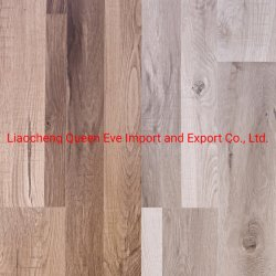 El patrón de melamina de textura de madera decorativa de papel