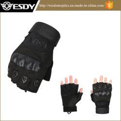 Военных тактических Fingerless Airsoft велосипедного спорта охота перчатки