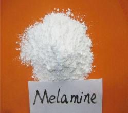 Poudre chimique de la mélamine de 99,8 % pour le contreplaqué/cuir/textile