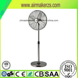 L'aluminium 4 lames Flooring ventilateur électrique du ventilateur statif