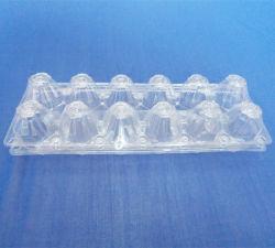 12 Zellen Belüftung-Blasen-Verpackungs-Kasten für Eier löschen Blasen-Tellersegment für Eier
