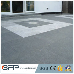 Chinesische dunkle graue Steinstraßenbetoniermaschinen des Granit-G654 Padang