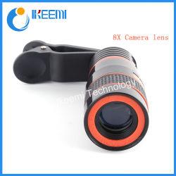 8X zoom de teleobjectiva telescópio Lente da câmera para a Samsung para iPhone Celular Lente para Xiaomi Huawei