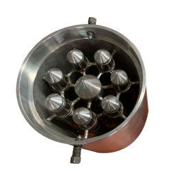 Líquido magnético armadilhas pipeline de filtro para remoção de metais
