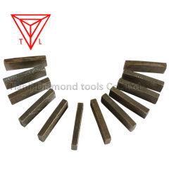 La lamierina di taglio del diamante di estrazione mineraria lavora i segmenti per il fornitore di pietra concreto della Cina del granito della roccia di marmo di Moorstone