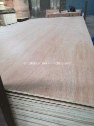 Madeira de madeira compensada Poplar Core E1 Cola para móveis