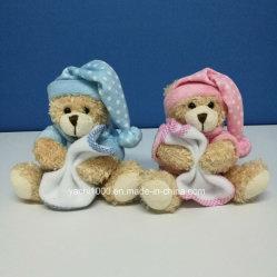 Kundenspezifische fördernde Feld-WeihnachtsTeddybär-Plüsch-Kinder füllten weiches Spielzeug an