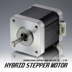 un motore passo a passo elettrico da 42 millimetri (NEMA 17) per la stampante 3D