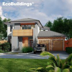 Design Livre de venda superior de aço Cold-Formed Prefab Casa Luxuosa vivenda confortável casa prefabricadas