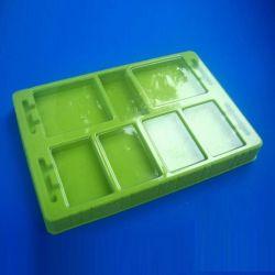 De duidelijke Doos Clamshell van het Dienblad van de Blaar Plastic Verpakkende