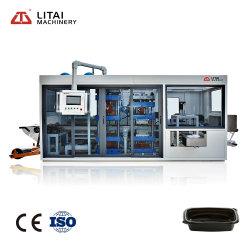 ماكينة تشكيل الحرارة التلقائية الكاملة Litai لصندوق بلاستيكي قابل للطي صنع الماكينة