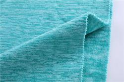 Les fabricants de vêtements de haute qualité du tissu de gros de Laine Polaire cationiques, confortable et respirante Low-Elastic cationiques Fleece