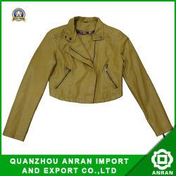 Women를 위한 간단한 Style Leather Jackets