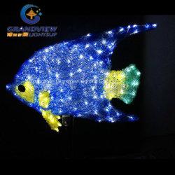 Les enfants adorent le monde de Nemo Le poisson bleu lumière à LED