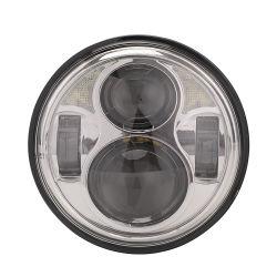 40W luz de cruce de 20W 5.75'' High/Luz de cruce para motocicletas Harley vehículo off-road de la luz de coche LED