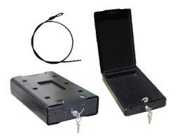 صندوق آمن للسيارات المحمولة من الفولاذ بالكامل للماسح والأشياء الثمينة الصغيرة (T-22CS)