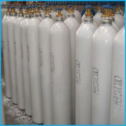 40L de acero sin costura de alta presión del depósito de gas de oxígeno (ISO9809-3)