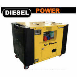 (8kw 10kw 12kw 10kVA 12kVA Air-Cooled Portable 15kVA) générateur de puissance du moteur diesel silencieux