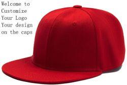 Tampas desportivo vermelho Boné Preto barato personalizado boné branco 3D Bordados Pac imprimindo a encaixar a tampa de plástico Caps promocionais de volta ao algodão Chapéu