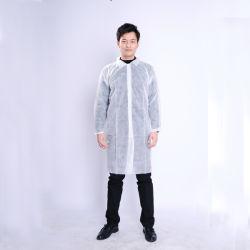 Médecin non tissés jetables blanche blouse de laboratoire médical/Vestes