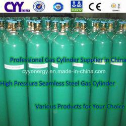50L Tped aprobado nitrógeno oxígeno Lar acetileno Hydrogeen GNC de CO2 de nitrógeno Lar acetileno GNC el hidrógeno a 150 bar/200 bar el cilindro de acero sin costura de alta presión