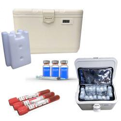 ワクチンのクーラーボックス輸送の血の薄ら寒いワクチン接種のキャリアの大箱のための小型クーラー